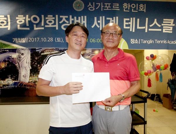 아시아나 싱가포르-한국 비즈니스 항공권의 주인공, 김재경 선수.JPG